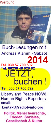 Buchlesungen von und mit Andreas Klamm - Buchungen Tel. 030 57 700 592