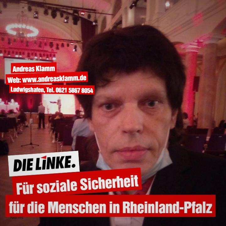 Andrea Klamm ist Kandidat für die Landtagswahlen in Rheinland-Pfalz am 14. März 2021, Listenplatz 20 und direkter Kandidat für Wahlkreis 38 Mutterstadt, Böhl-Iggelheim, Dannstadt-Schauernheim, Neuhofen, Rheinauen