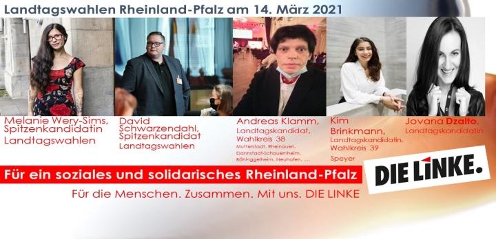Vorstellung von Landtagskandidatinnen und Landtagskandidaten für die Landtagswahlen in Rheinland-Pfalz
